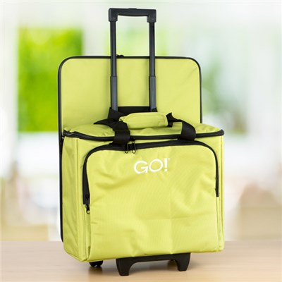 AccuQuilt GO Fabric Cutter Tote and Die Bag - Green
