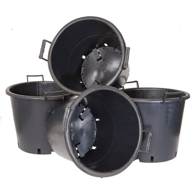 Heavy Duty 30L Pots with Handles (4 Pack)