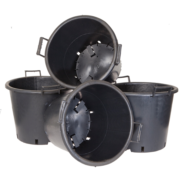 Heavy Duty 30L Pots with Handles (4 Pack) No Colour