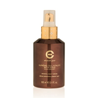 Elizabeth Grant Supreme Cell Vitality Renewal Night Serum with Gold 100ml