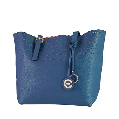 Elizabeth Grant Laser Cut Detailed Shopper Bag
