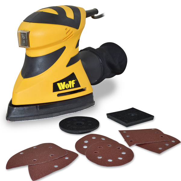 Wolf Multi 3-in-1 Sander No Colour