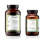 Fushi Supplements Bundle with Dietone (90 Veg Caps) and Chia Seeds (200g)