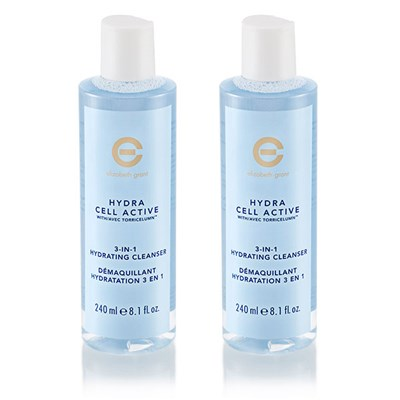 BOGOF Elizabeth Grant Hydra Cell Active 3-in-1 Hydrating Cleanser 240ml
