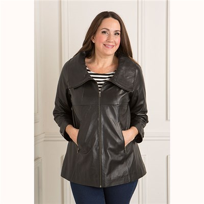 Woodland Leather Swing Jacket