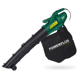 PowerPlus 3000 watt Garden Blower Vac with pig tail safety cable