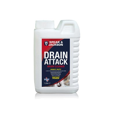 Spear and Jackson Drain Attack - 1 Litre