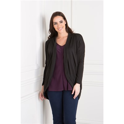 Daisy Eldridge Drape Pocket Cardigan