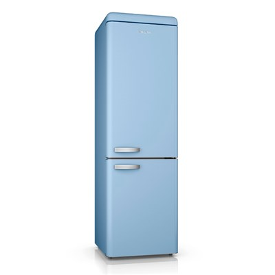 Swan Retro Half Half Fridge Freezer