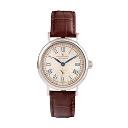 Constantin Weisz Gents Winding Watch with Genuine Leather Strap