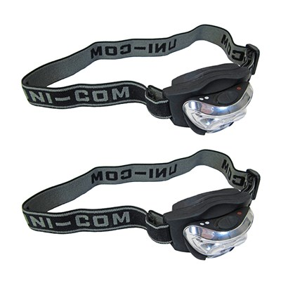 2 x LED Head torch