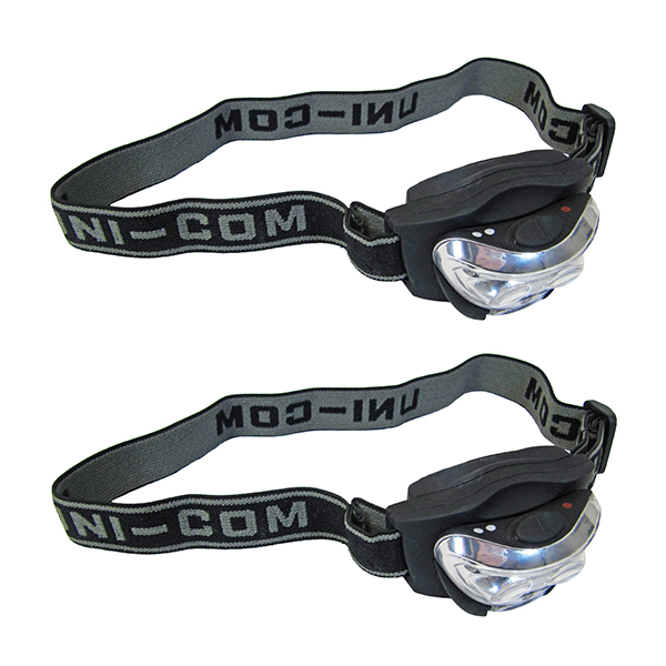 2 x LED Head torch No Colour