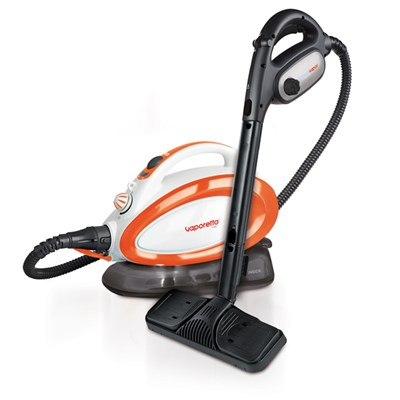 Polti Vaporetto Handy Pure Steam Cleaner Plus Cloths and Sockettes Accessory Pack