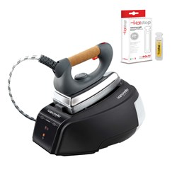 Polti Vaporella Forever 615 Pro Steam Generator Iron Plus Kalstop 20 x 5ml Pack