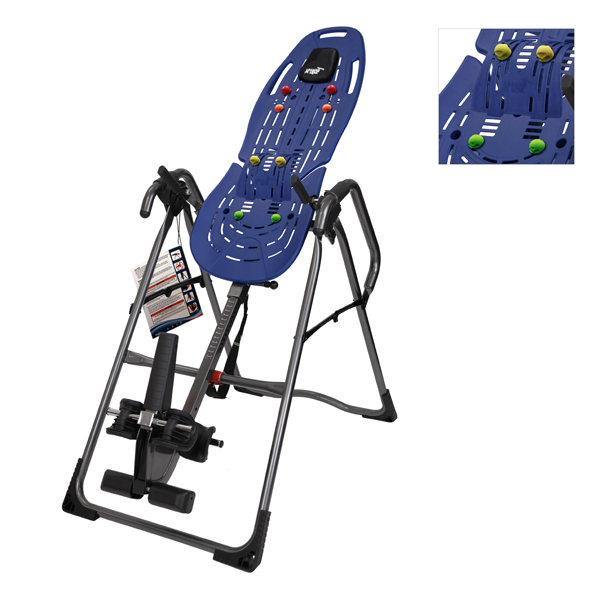 Teeter Hang Ups EP-960 Inversion Table with FREE Acupressure Nodes No Colour
