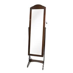 Jewellery Storage Mirror on Stand