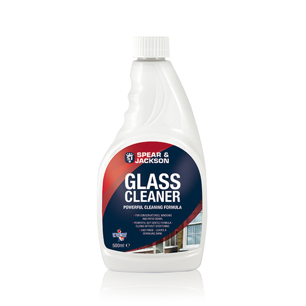 Spear and Jackson Glass Cleaner - 500ml No Colour