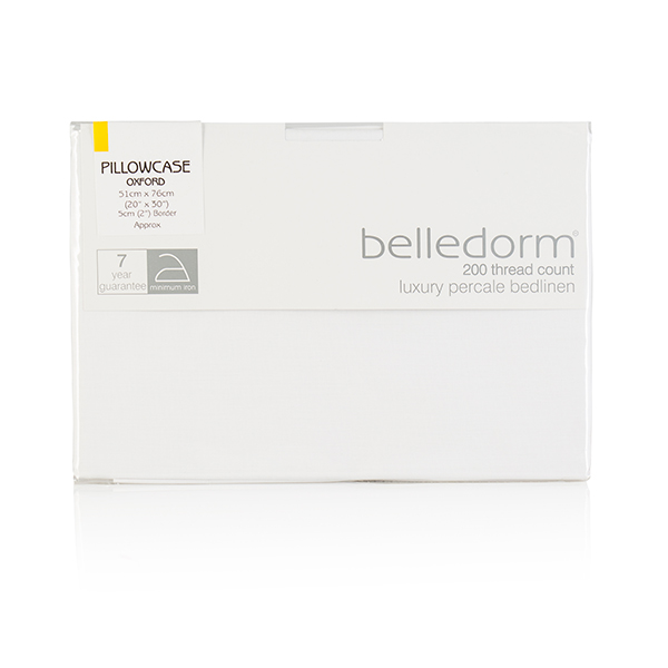 T200 Polycotton Percale Oxford Pillowcase 364529