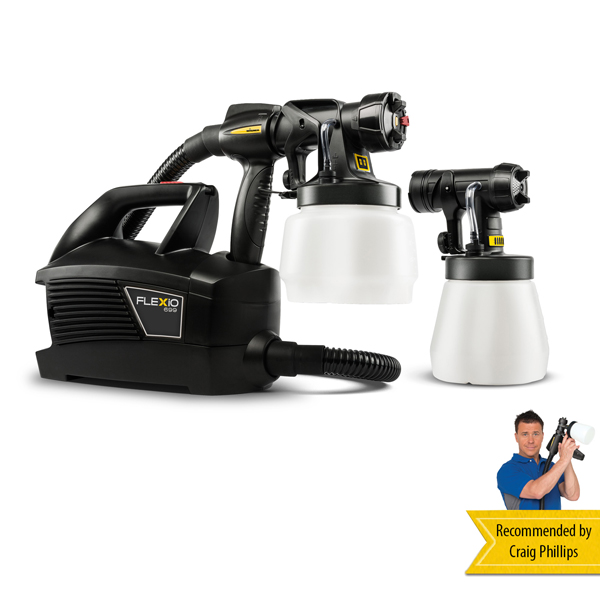 Wagner W699 FLEXiO Universal Sprayer with 2 Attachments No Colour