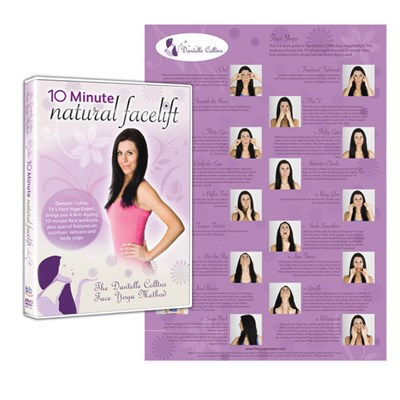 Danielle Collins Face Yoga Wall Chart and DVD