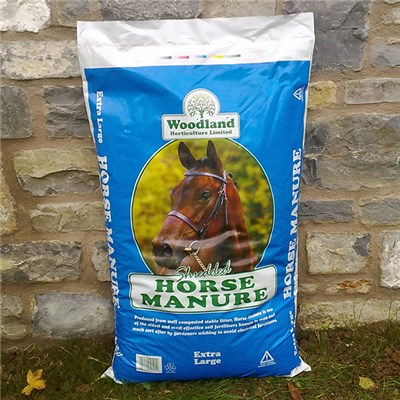 Shredded Horse Manure XL 60L Bag for Mulching