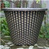 Set of 4 Pinecone Planters 11inch (27cm) diameter No Colour