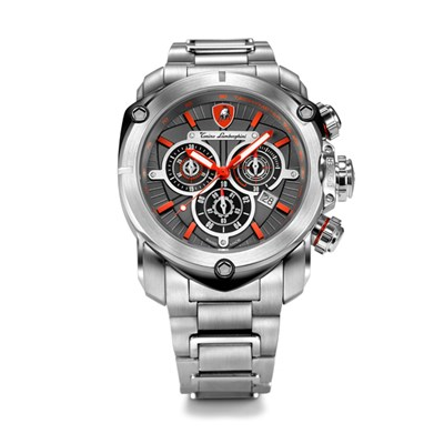 Tonino Lamborghini Spyder 3200 Gents Quartz Chronograph Watch with Stainless Steel Strap