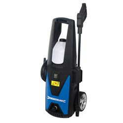 Silverline 1400W Pressure Washer with Accessories with 3 Year Warranty on Registration