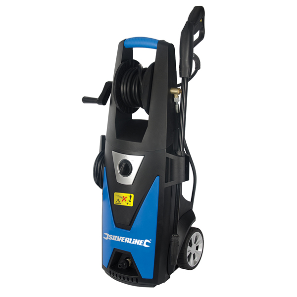 Image of Silverline 1800W Pressure Washer with Accessories with 3 Year Warranty on Registration 365261