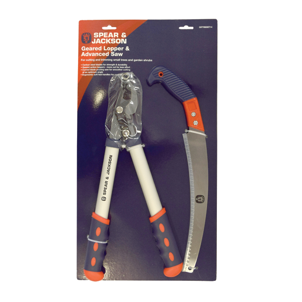 Spear and Jackson Geared Lopper and Advanced Saw No Colour