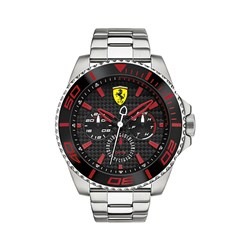 Scuderia Ferrari Gents XX Kers Watch with Multi Dial Watch and Stainless Steel Strap