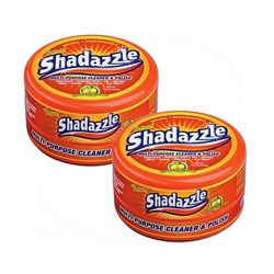 Two Tubs of Shadazzle Natural Cleaner