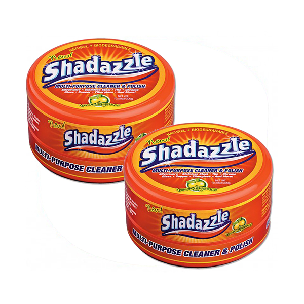 Two Tubs of Shadazzle Natural Cleaner No Colour