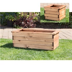 Corner Planter Set includes Troughs and Square Planter