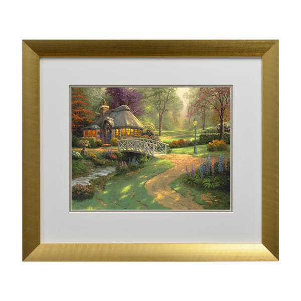 Thomas Kinkade Friendship Cottage Open Edition Print Modern