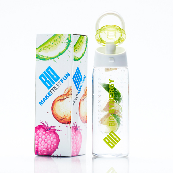 Bio-Synergy Fruit Infuser Water Bottle (700ml) No Colour