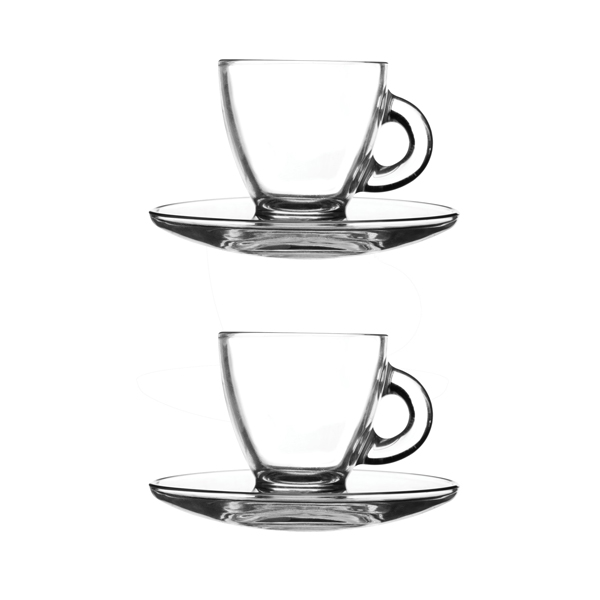 Ravenhead Entertain Espresso 2 Cups and Saucers No Colour