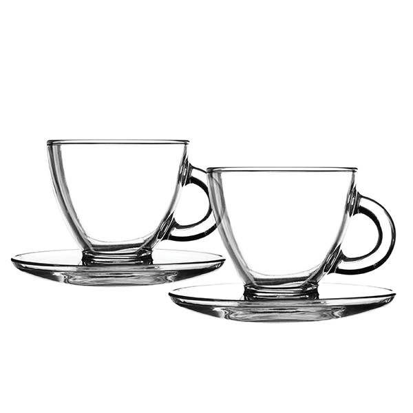 Ravenhead Entertain Cappuccino 2 Cups and Saucers No Colour
