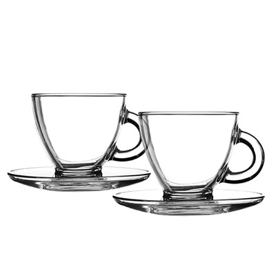 Ravenhead Entertain Cappuccino 2 Cups and Saucers