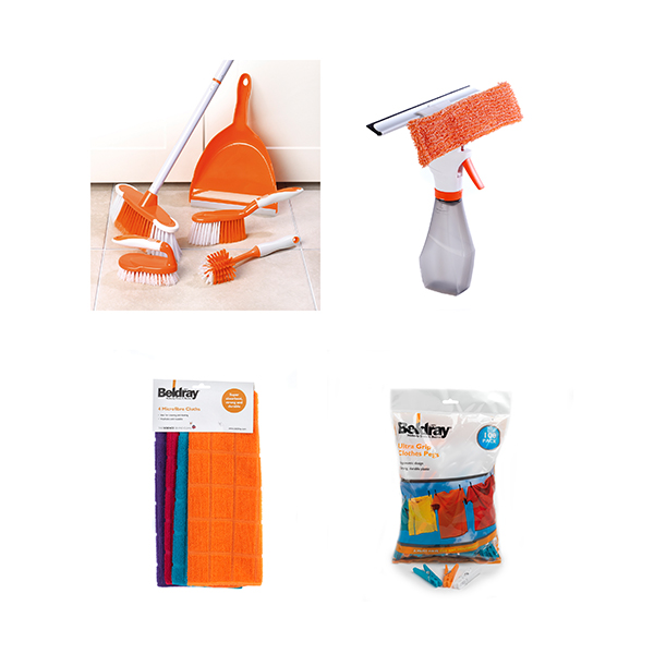 Beldray 110 Piece Cleaning Set No Colour