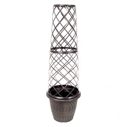 1.3M Tower Pot and Trellis