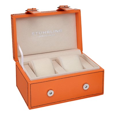 Stuhrling Original Twin Collectors Watch Box