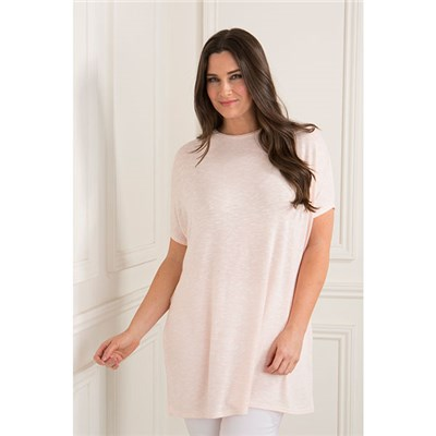 Daisy Eldridge Marl Top with Side Slits