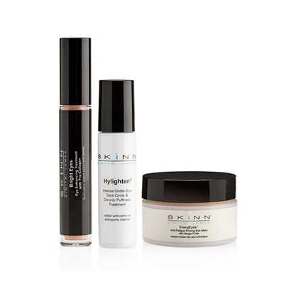 Skinn Eye Revive 3 Piece Hylighten Dark Circle and Puffiness Treatment 7ml, EnergEyes Eye Mask 14ml, BrightEyes 3.5ml