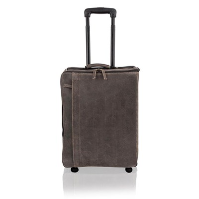 Woodland Leather Brown Suitcase