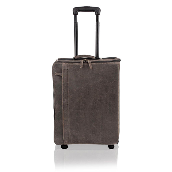 Woodland Leather Brown Suitcase No Colour