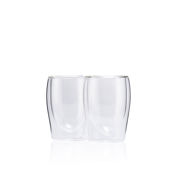 Melitta Set of 2 Espresso Glasses No Colour