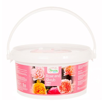 Blooming Fast Rose & Shrub Fertiliser (1.5kg Twinpack)
