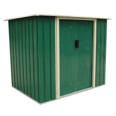 Bentley Garden 5Ft X 3Ft Metal Storage Chest Storette Small Shed - Green