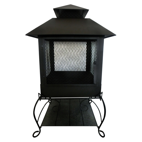 Charles Bentley Medium Mesh Wyoming Fire Pit No Colour